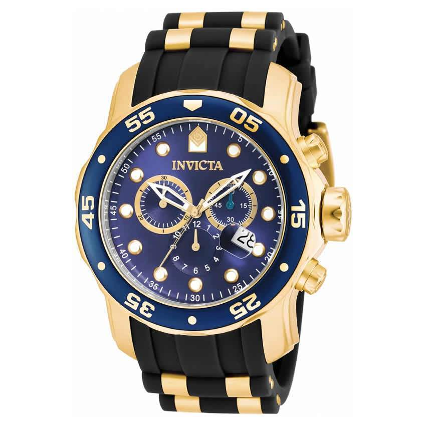 Invicta 17882 Men's Pro Diver  Quartz Multifunction Blue Dial Watch