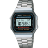 Casio A168W-1 Men's Stainless Classic Steel Watch