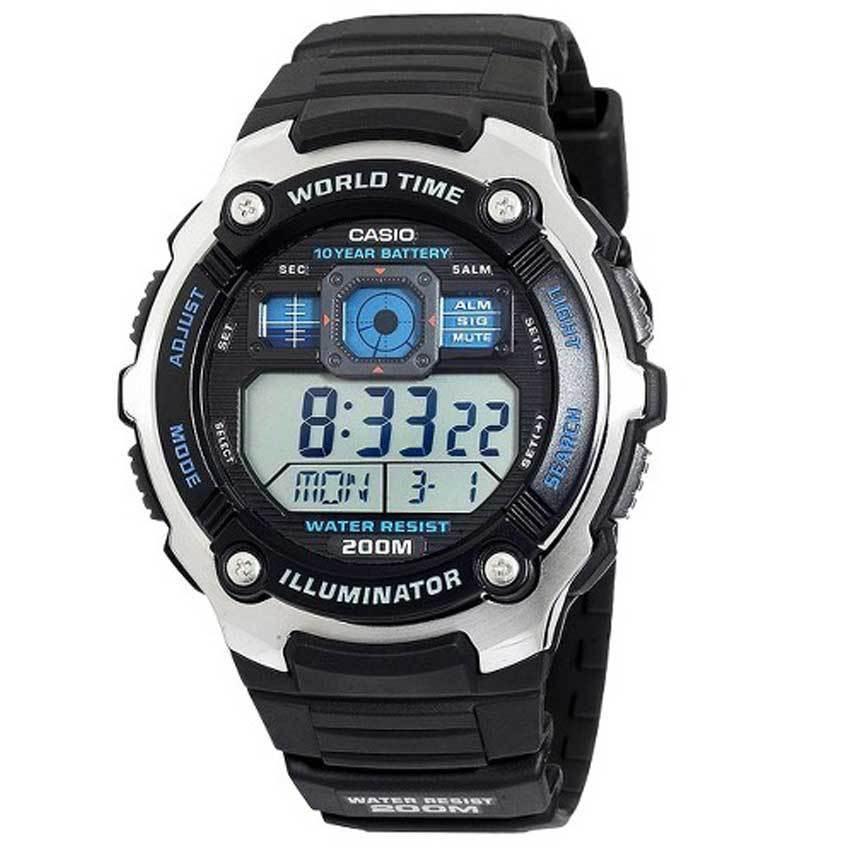Casio AE2000W-1AV Men's Multi Function Sport Digital Watch