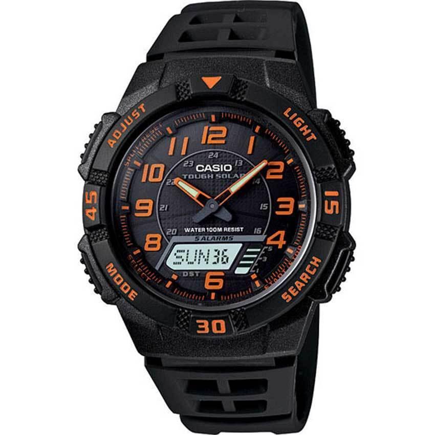 Casio AQS800W-1B2V Men's Analog-Digital Solar Powered Medium Size Watch