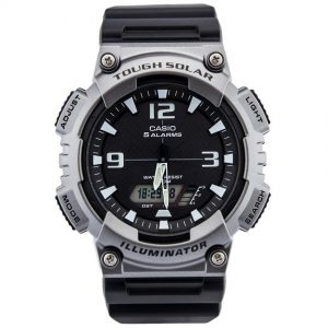 Casio AQS810W-1A4V Men's Wrist Watch Sports Anadigi Solar