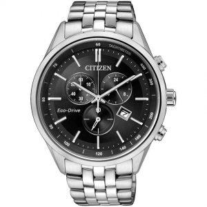 Citizen AT2140-55E Men's Eco-Drive Chronograph Tachymeter Watch