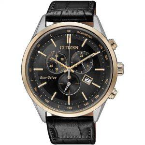 Citizen AT2144-11E Men's Eco-Drive Sapphire Glass Black Dial Watch