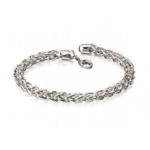 Fred Bennett B4972 Men's Sterling Silver Spiga link Bracelet