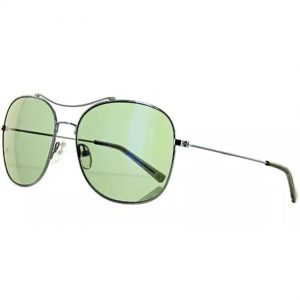 Banana Republic ALEX/S 06LB Men's Silver Frame Green Lens Sunglasses