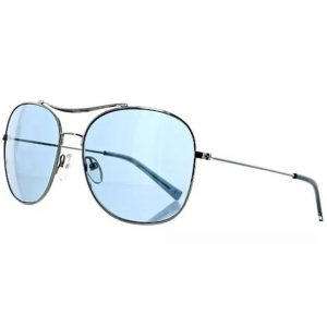 Banana Republic ALEX/S 06LB Men's Silver Frame Blue Lens Sunglasses