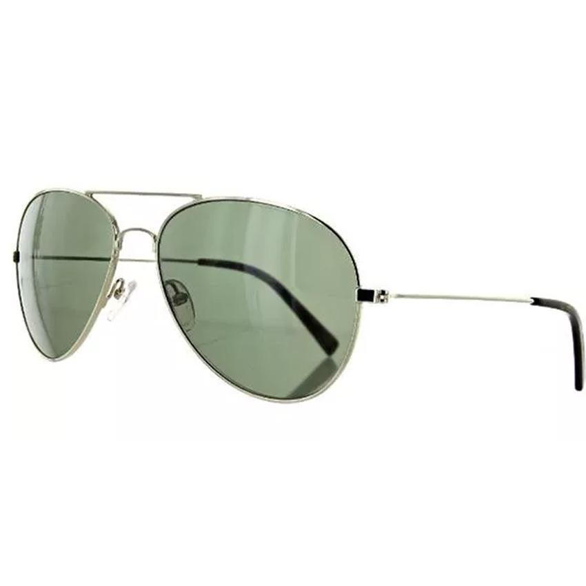 Banana Republic Mason/S 03YG Men's Light Gold Frame Green Lens Sunglasses