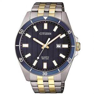 Citizen BI5054-53L Men's Analog Blue Textured Dial Watch