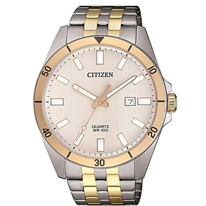 Citizen BI5056-58A Men's Analog Two Tone Bracelet Watch