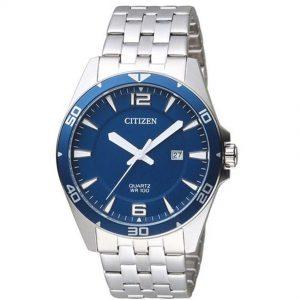 Citizen BI5058-52L Men's Quartz Blue Dial Bracelet Watch