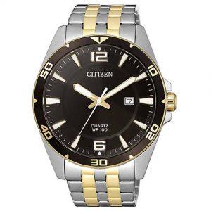 Citizen BI5059-50E Men's Quartz Two Tone Bracelet Watch