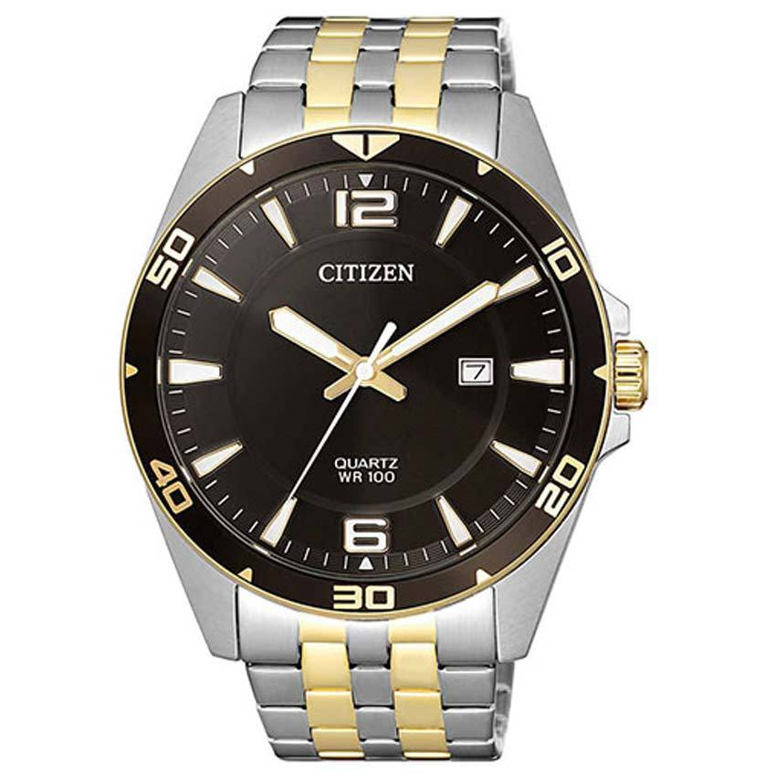 Citizen BI5059-50E Men's Quartz Two Tone Bracelet Watch
