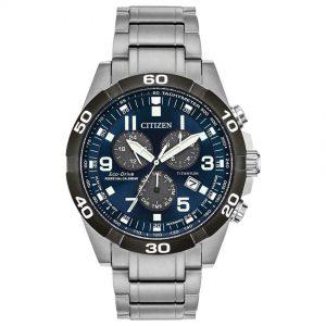 Citizen BL5558-58L Men's Brycen Perpetual Chronograph Titanium Watch