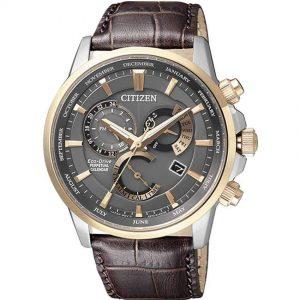 Citizen BL8148-11H Men's Eco-Drive Chronograph Leather Medium Watch
