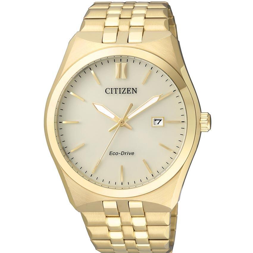Citizen BM7332-61P Men's Eco-Drive Gold Analog Medium Watch