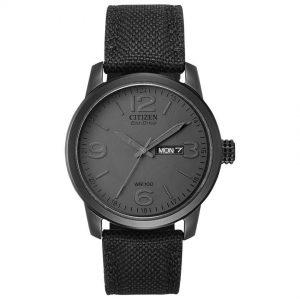 Citizen BM8475-00F Men's Chandler Eco-Drive Black Nylon Strap Watch