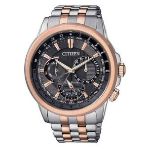 Citizen BU2026-65H Men's Eco-Drive Two Tone Bracelet Watch