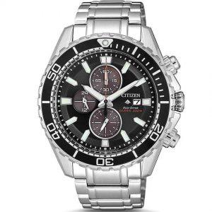Citizen CA0711-80H Men's Promaster Eco-Drive Chronograph Bracelet Watch
