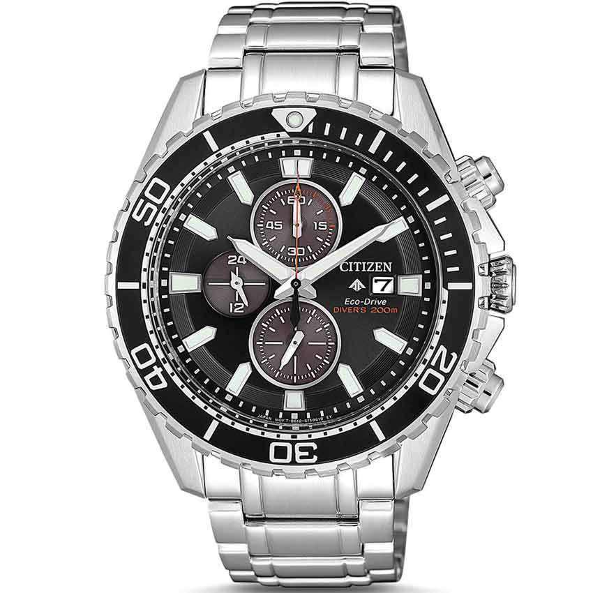 Citizen CA0711-80H Men's Promaster Eco-Drive Chronograph Bracelet Watch