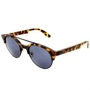 Carrera 5035/S 0TNK Unisex Havana Black Blue Avio Lens Sunglasses