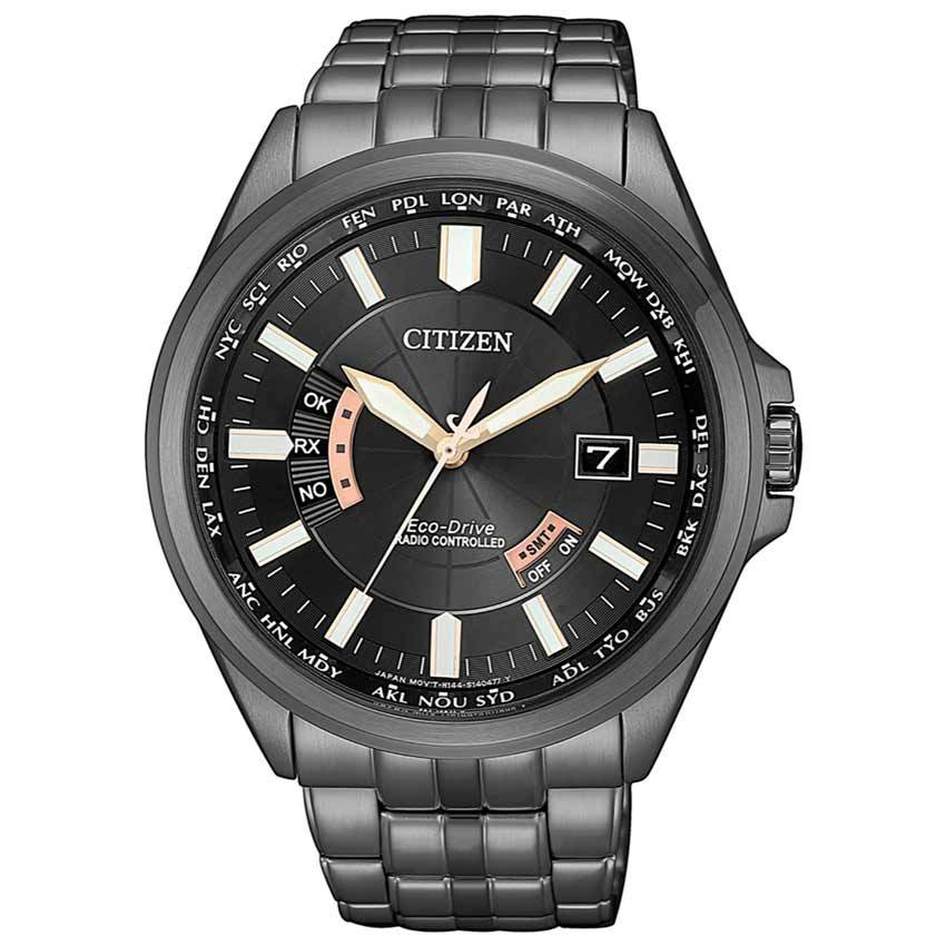 Citizen CB0185-84E Men's Eco-Drive Radio Controlled Black Watch