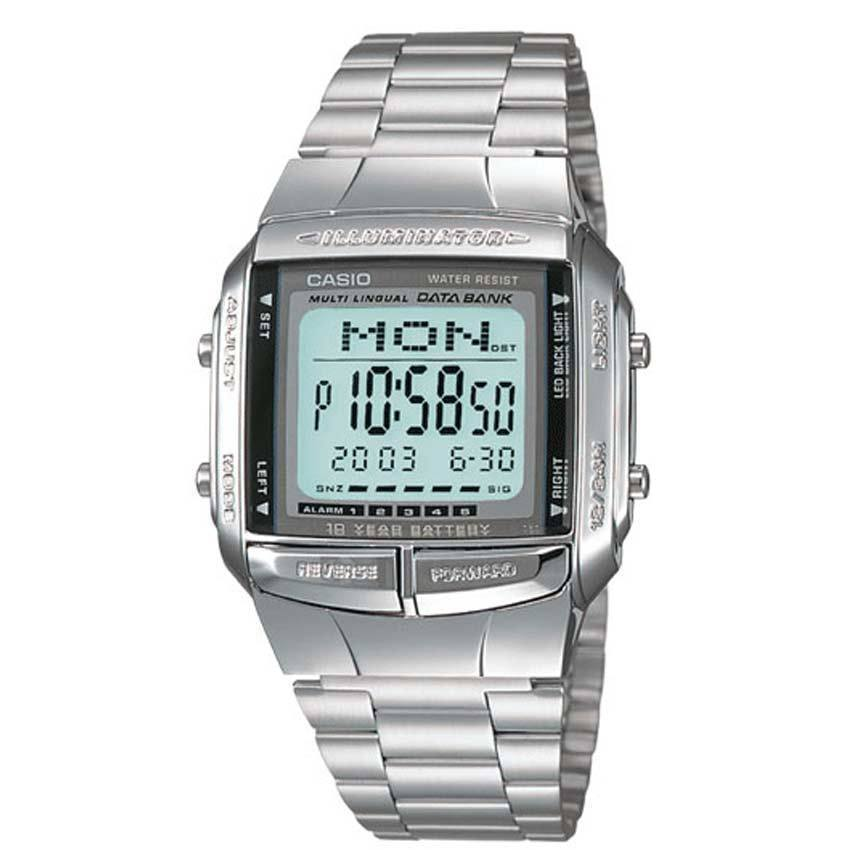 Casio DB360-1AV Men's Digital DataBank Small Size Watch