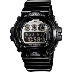 Casio Gent's DW-6900NB-1DR Mirror-Metallic G-Shock Black Resin Watch