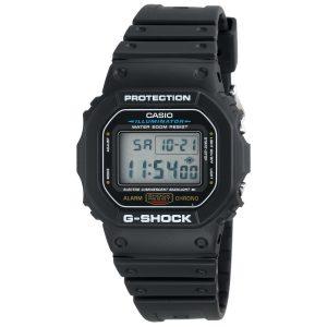 CASIO DW5600E-1V MEN'S BLACK STRAP G-SHOCK WATCH