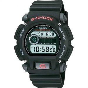 Casio DW9052-1V Men's G-Shock Tough Shock Water Resistant Digital Resin Band Medium Size Watch