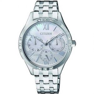 Citizen ED8170-56D Women's Multifunction Crystallized Dress Watch