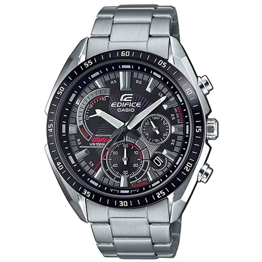 Casio Gent's EFR-570DB-1AVUDF Edifice Black Dial Chronograph Watch