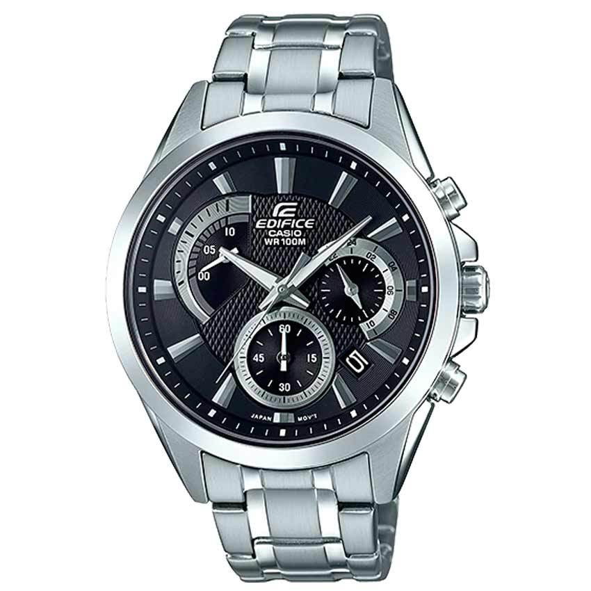 Casio Gent's EFV-580D-1AVUDF Edifice Chronograph Stainless Steel Watch