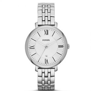Fossil ES3433 Women's Jacqueline Silver Dial Stainless Steel Watch