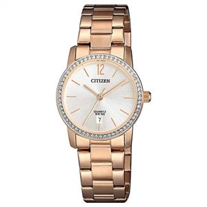 Citizen EU6039-86A  Women's Swarovski Crystals Rose Gold Watch