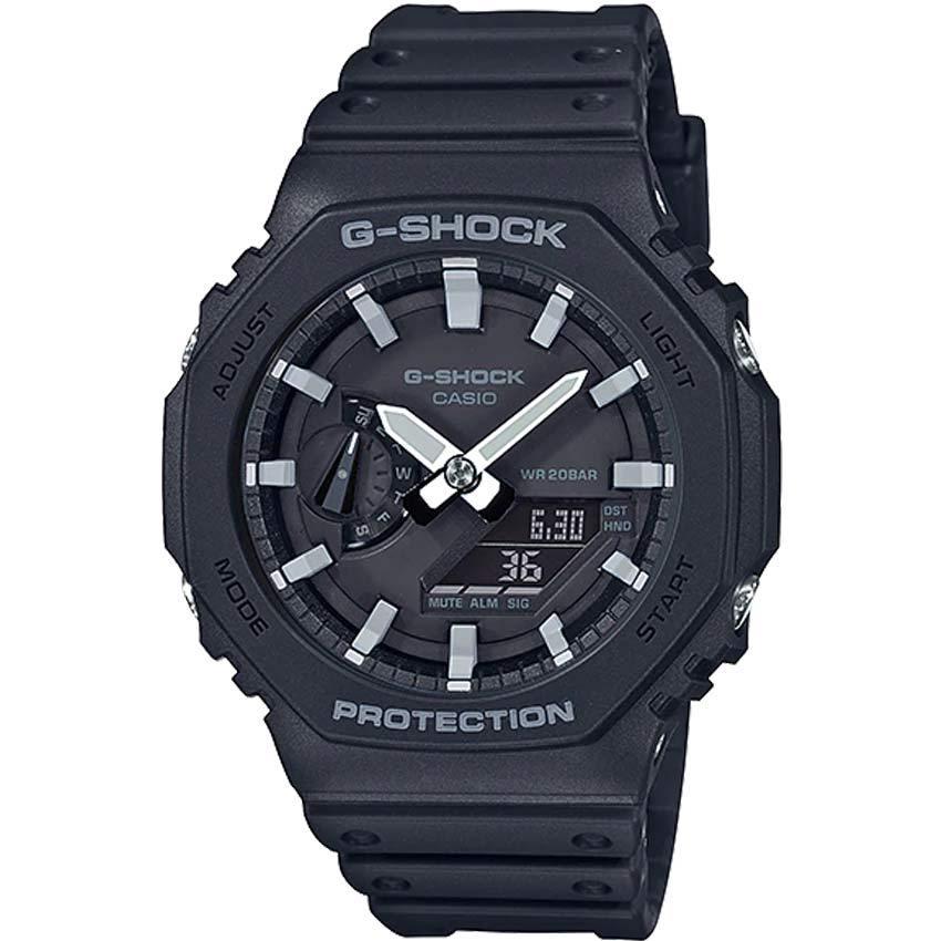 Casio Gent's GA-2100-1ADR G-Shock Carbon Core Guard Resin Watch