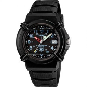 Casio HDA600B-1BV Men's Enticer Analog Sports Small Size Watch