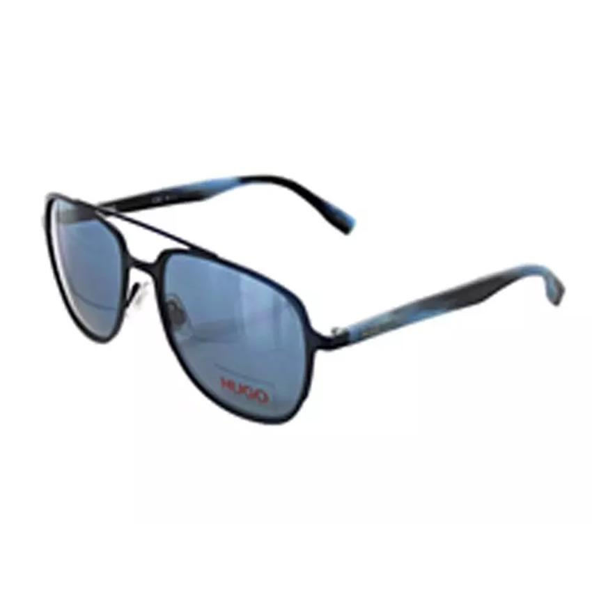 Hugo Boss 0301/S 0HW8 Men's Blue Horn Frame Blue Avio Lens Sunglasses