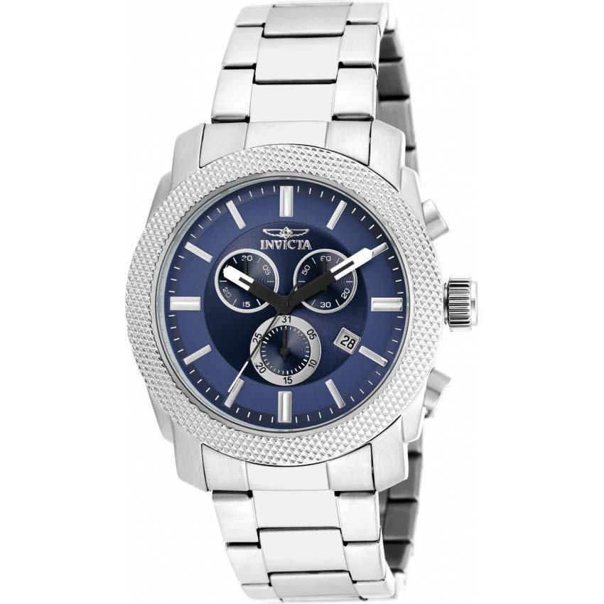 Invicta 17742 Men's Specialty Quartz Chronograph Blue Dial Watch