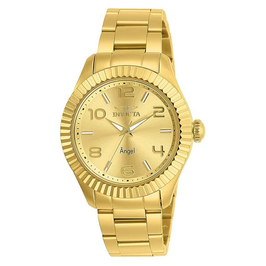 Invicta Angel 27460 Women's Gold Plated Stainless Steel Watch