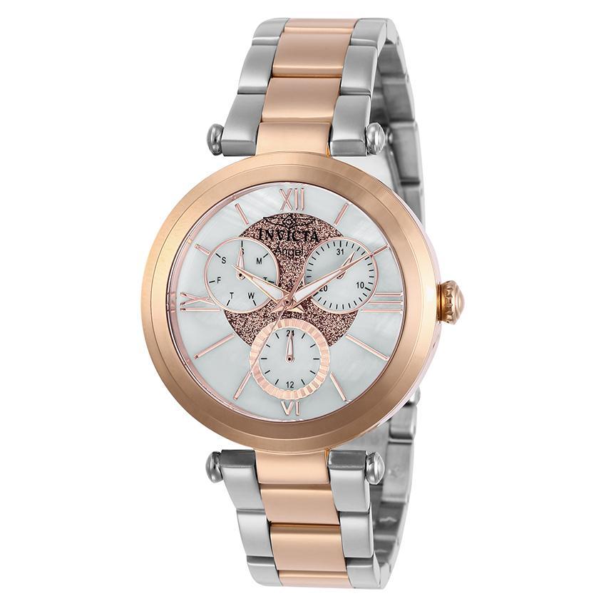 Invicta 28932 Women's Angel Quartz 3 Hand White Dial Watch