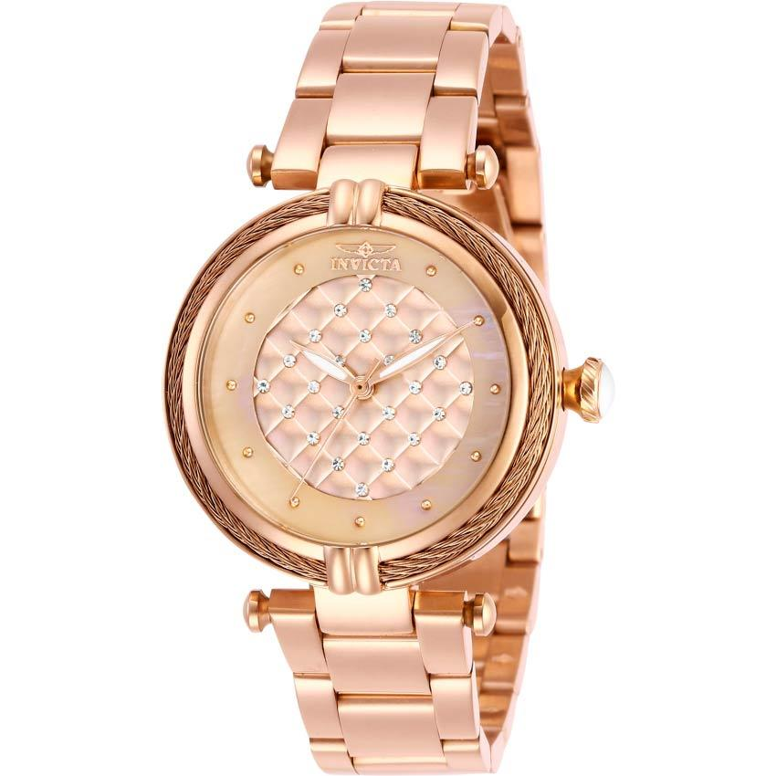Invicta 28933 Women's Bolt Rose Gold Dial, Bracelet Watch
