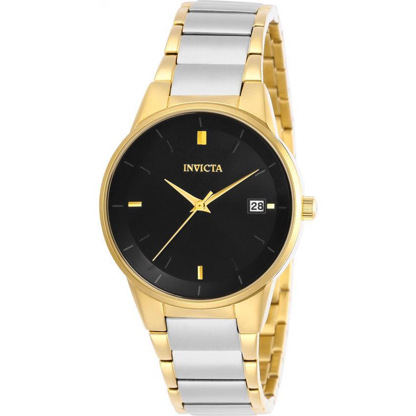 Invicta 29488 Women's Specialty Black Dial Two-Tone Bracelet Watch