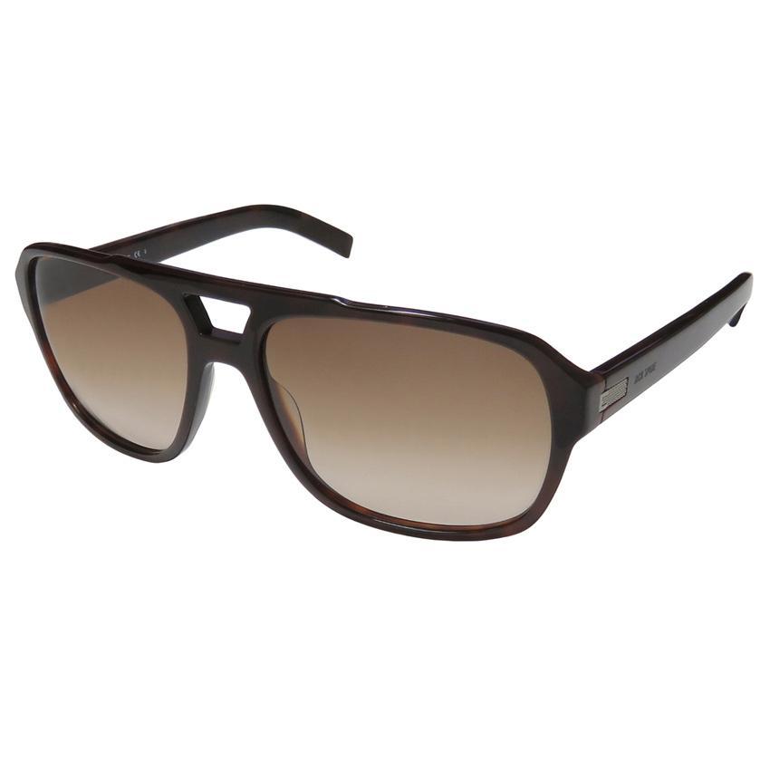 Jack Spade Peter/S 0ER4 Men Tortoise Frame Brown Gradient Lens Sunglasses