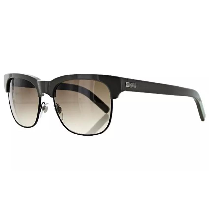 Jack Spade Snyder/S 0DT2 Grey Metal Frame Brown Lens Sunglasses