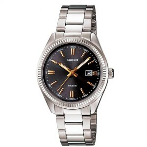 Casio Ladies LTP-1302D-1A2VDF Enticer Stainless Steel Medium Watch
