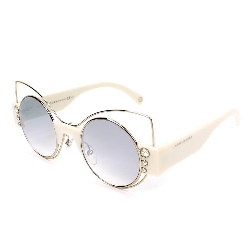 Marc Jacobs Marc 1/S 0U4X Women Violet Silver Mirror Lens Sunglasses