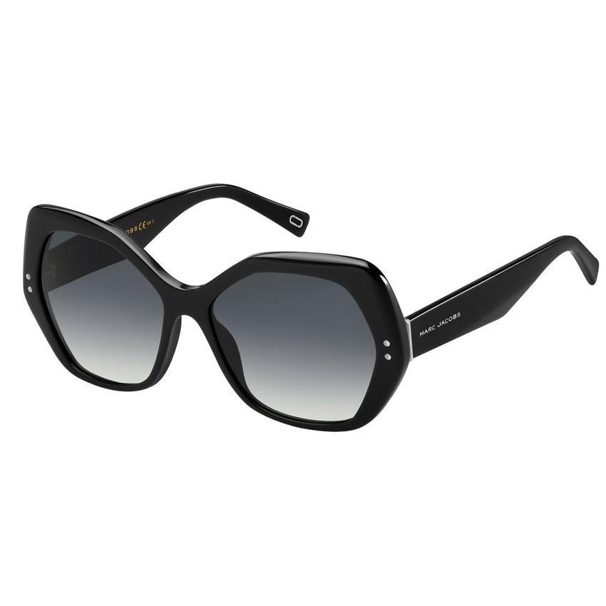 Marc Jacobs Marc 117/S Women's Black Resin Sunglasses