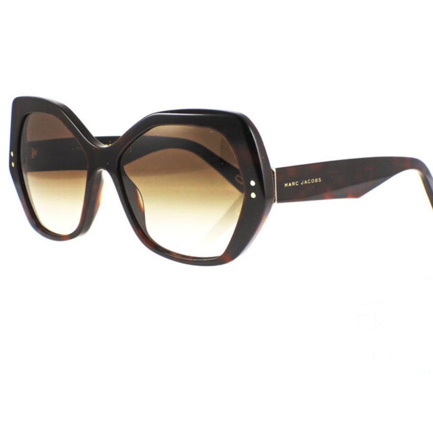 Marc Jacobs Marc 117/S 0ZY1 Women's Havana Medium Sunglasses