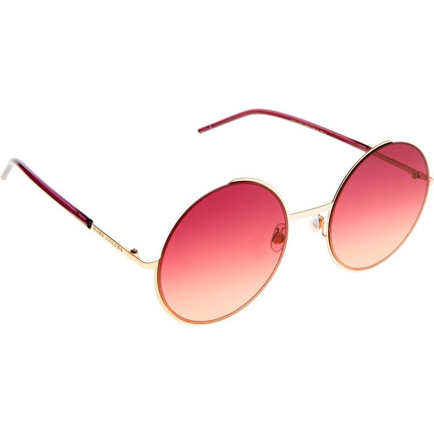 Marc Jacobs Marc 34/S 0TM0 Women's Burgundy Orange Sunglasses