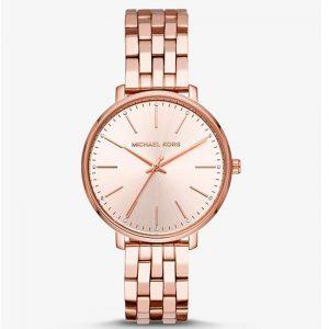 Michael Kors MK3897 Women's Pyper Crystal Rose Gold Bracelet Watch